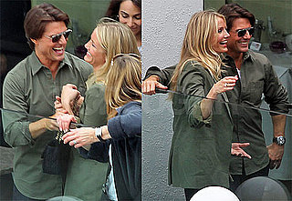 Pictures of Tom Cruise and Cameron Diaz Promoting Knight and Day in Austria 2010-06-15 22:47:00