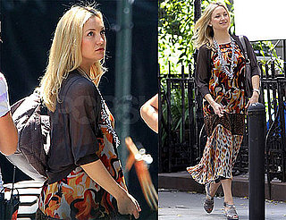Pictures of Kate Hudson on Set