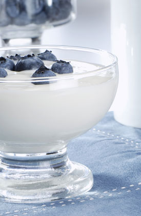 Blueberries and Yogurt Healthier When Combined