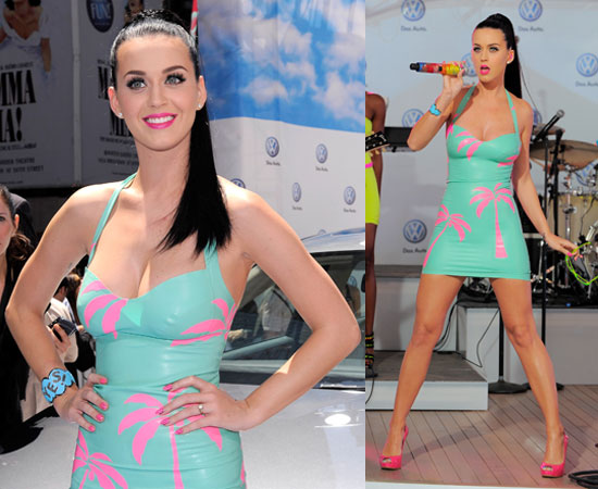 Pictures of Katy Perry Performing at Volkswagen's Jetta Launch in NYC