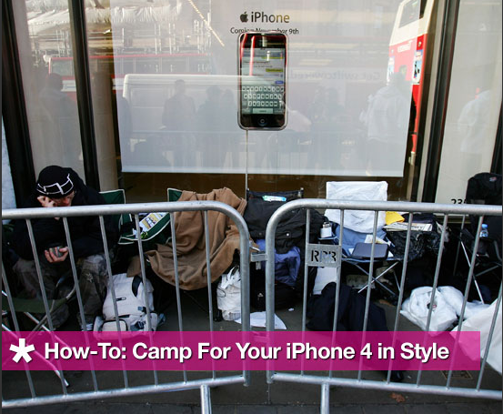 How-To: Camp For Your iPhone 4 in Style