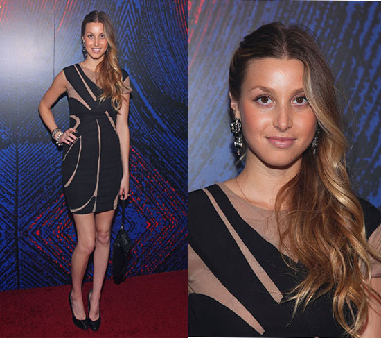 Pictures of Whitney Port in Yigal Azrouel Dress