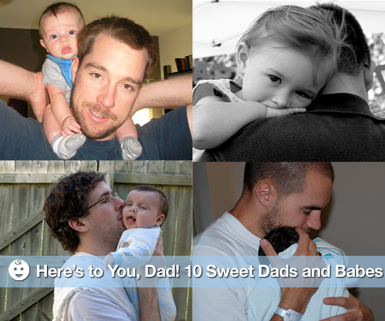 Pictures of Dads and Their Babies