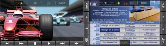 SlingPlayer Mobile App For Android Phones