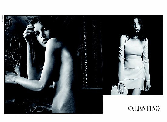 Valentino Continues Radical Image Change with Fall 2010 Campaign Featuring Nude Models