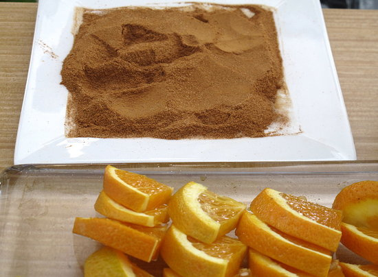 Simple Tip: Serve Tequila With Orange Wedges and Cinnamon Sugar