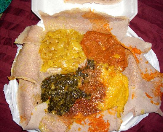 Ethiopian Vegetarian Meal