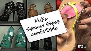 How To Make Your Summer Shoes Comfortable