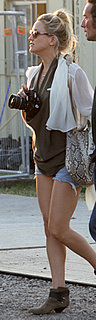 Kate Hudson Wears Jean Shorts and Ankle Boots to Glastonbury