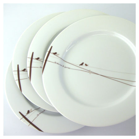 Monogrammed Dinnerware Is Popular Among Newlyweds