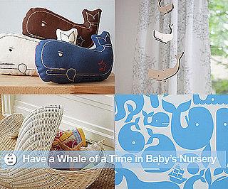 Whale Themed Nursery Decor