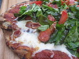 Grilled Red Pizza Recipe