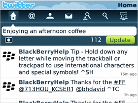 Twitter BlackBerry App Out of Beta