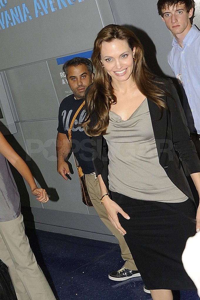 Pictures of Angelina in DC