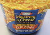 Taste Test: Kraft Macaroni and Cheese Cheddar Explosion