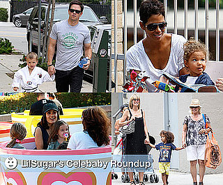 Pictures of Celebrities and Their Children 2010-07-12 15:45:34