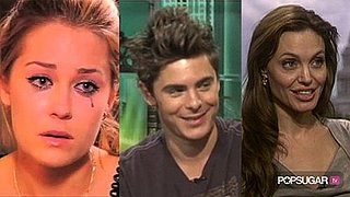 The Best of The Hills Video, Zac Efron Interview About Vanessa Hudgens, Angelina Jolie Interview About Kids, and Pictures of Bra