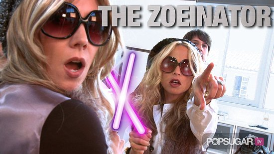 Celebrity Stylist Rachel Zoe Battles the Zoeinator!