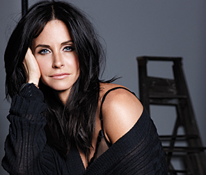 Courteney Cox in August's InStyle