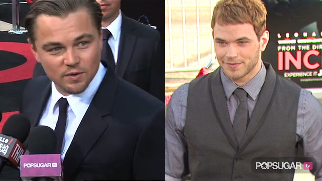 New Video of Leonardo DiCaprio at the Inception Premiere in LA