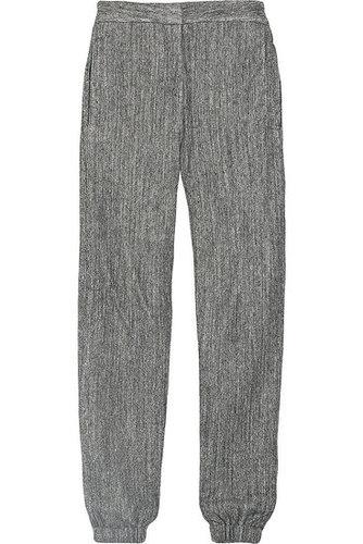 L'Agence|Japanese herringbone fleece pants|NET 255