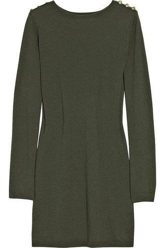 Crumpet|Cashmere mini sweater dress|NET-A-PORTER.COM 420