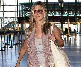 Slide Picture of Jennifer Aniston at LAX