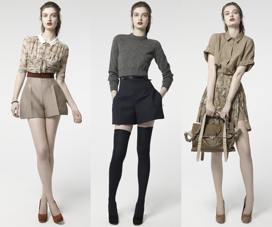 Carven Autumn Winter 2010 Look Book by Guillaume Henry