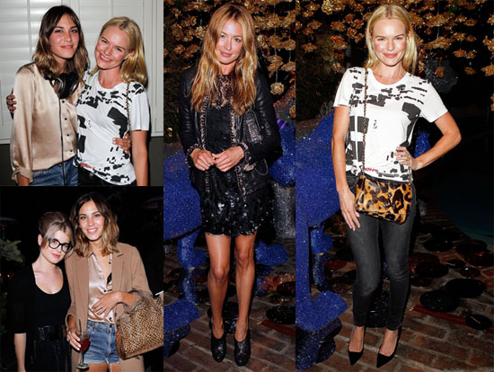 Pictures of Kate Bosworth at a Mulberry Party in LA