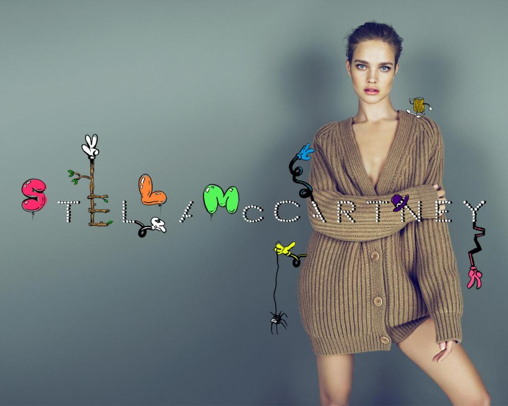 Stella McCartney Still Enamored with Cartoons for Her Fall ...