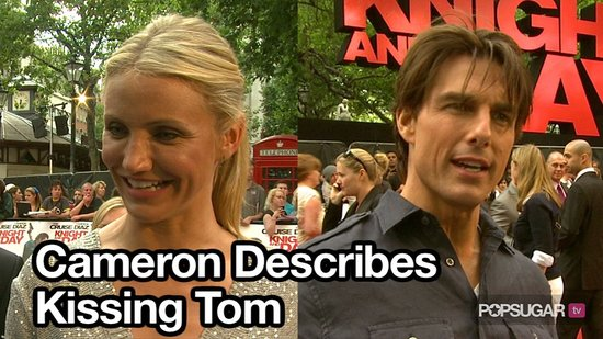 Cameron Diaz Talking About Kissing Tom Cruise