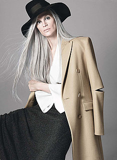 Kristen McMenamy Has To Dye One Section of Her Hair Grey to Match the Rest