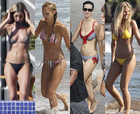 Pictures of Jennifer Aniston, Brooklyn Decker, Katy Perry, Jessica Alba, Cindy Crawford