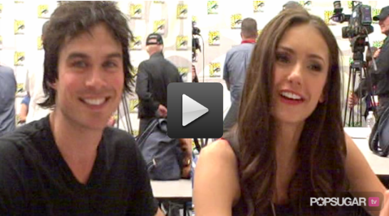 Video of The Vampire Diaries and True Blood Casts at Comic-Con
