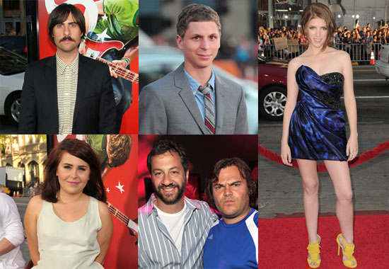 Pictures of Jason Schwartzman, Abigail Breslin, Michael Cera, Adam Scott, and Anna Kendrick at Scott Pilgrim Premiere
