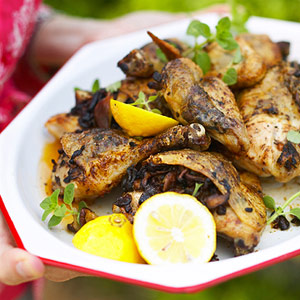 Grilled Chicken Marsala Recipe