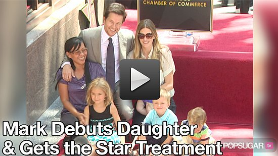 Video: Mark Wahlberg Debuts His Daughter, Thanks Ari Gold at Star Ceremony 2010-07-30 10:45:00