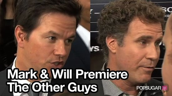 Video of Mark Wahlberg and Will Ferrell at The Other Guys Premiere in NYC