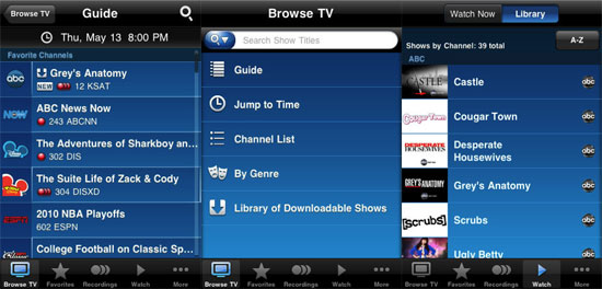 AT&T U-Verse iPhone App