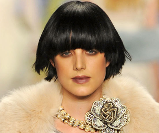 The Edgy Blunt Bob at Anna Sui