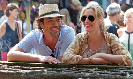 Review of Eat Pray Love Starring Julia Roberts and Javier Bardem 2010-08-13 05:30:00