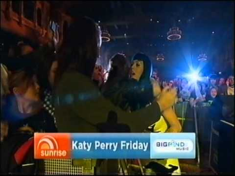 Katy Perry on Sunrise Performance