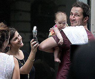 Picture of Tiffani Thiessen With Husband Brady Smith and Daughter Harper Smith