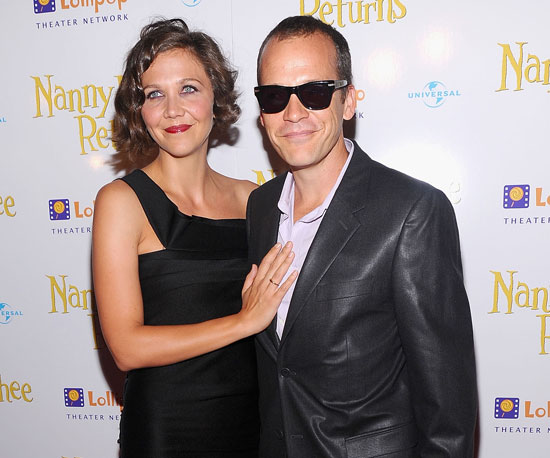 Slide Picture of Maggie Gyllenhaal and Peter Sarsgaard at Nanny McPhee Premiere