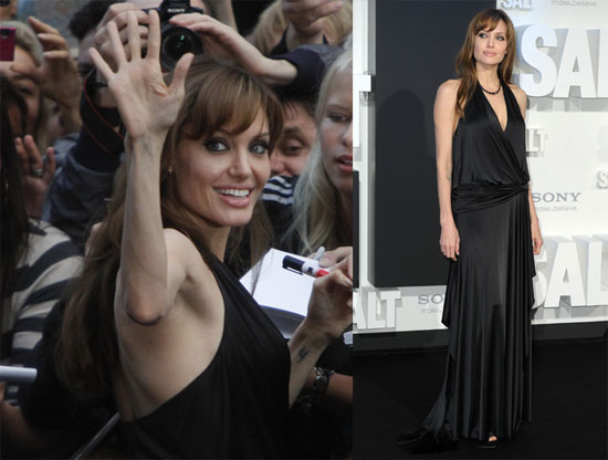 Angelina at the German Premiere of Salt