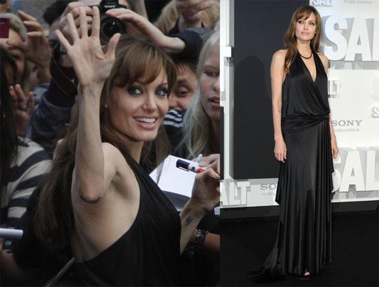 Angelina at the German Premiere of Salt