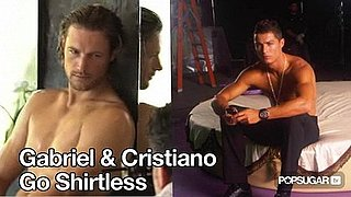 Video of Gabriel Aubry Shirtless For Charisma 2010-08-18 12:03:43