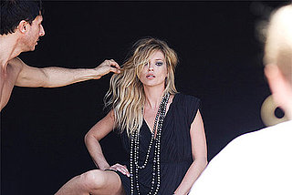 Garance Dore Captures Behind The Scenes of David Yurman's Fall 2010 Campaign Featuring Kate Moss