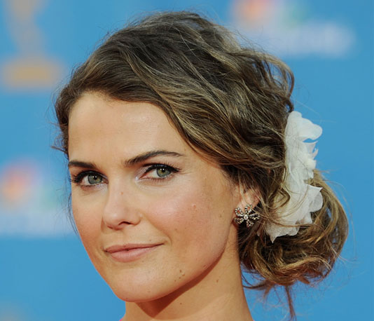 Keri Russell's Hair at the 2010 Emmys