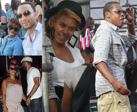 Rock the Bells 2010 in NYC Feat Beyonce, Alicia Keys, Lauryn Hill, Estelle, John Legend